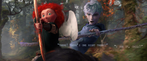 Cupid's Apprentice [jack/merida] by seeinglights