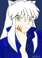 Inuyasha by InkCell-Illustration