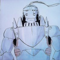 alphonse elric (fanart) by sissadDS