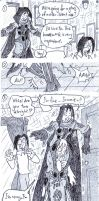FanWriter's Art 211 Sketch 29 At Home 5 by MsiaFanWriter