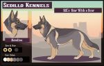 SK's Star with a Scar: Katalina by Sedillo-Kennels