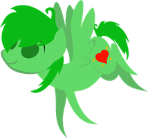 Simple Heartstyle Vector by demonreapergirl
