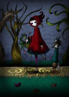 Little Red Riding Hood by Numen-lab