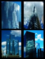 Buildings by funkydpression