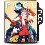 Fooly Cooly (FLCL) Folder Icon Ver. 1 by Maxi94-Cba