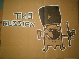 The Russian by ManeFromSlipflip