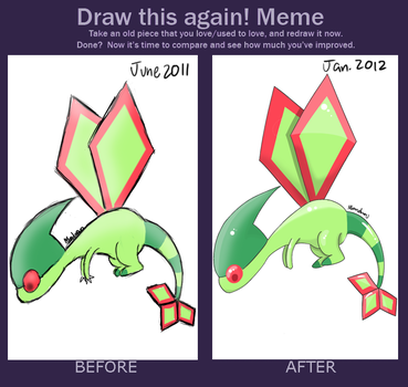 MEME: Draw This Again by MelodyBunny1