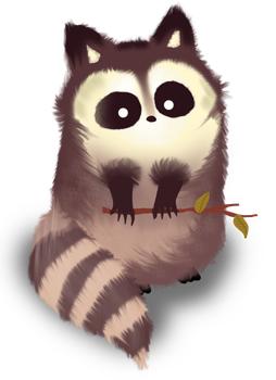 Raccoon by Habofro