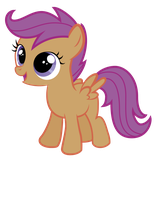 Scootaloo Excited by konylice
