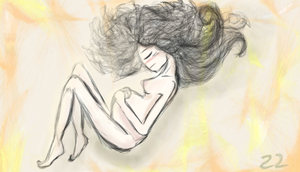 100 drawings_mother by braen