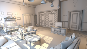 Toon Room white shader4 by z-Gen