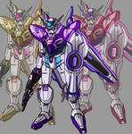 Custom Yasuda gundam: Trinity Pack by Banagherlinks