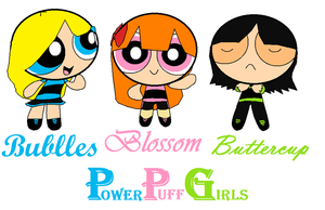 Power Puff Girls by glorifiedCartoonist