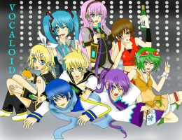 Vocaloid: Voice Synthesizer by JazminKitsuragi