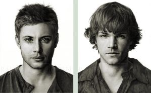 Jensen and Jared by Randy-man