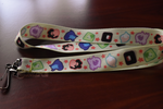 Steven Universe Crystal Gems Lanyard by Left2Fail
