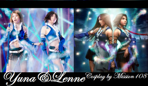 Final Fantasy X2 Yuna Lenne Cosplay Comparison by Mission108