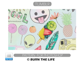 Tumblr | Pattern by Burn-the-life