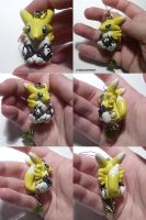 Renamon Charm by ChibiSilverWings