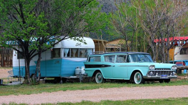 Rambler with Shasta trailer by finhead4ever