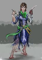 character design on the livestream w.i.p by AdrianNagorski