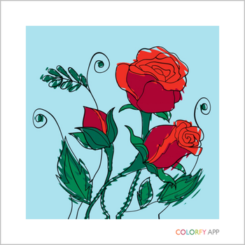 Summer Roses (Colorfy) by Cybernino