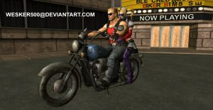 2 Harleys 1 Duke by Wesker500