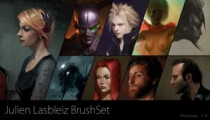 BrushSet JulienLasbleiz package1 by JulienLasbleiz
