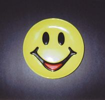 Happy Plate by Jc2theW