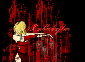 I'm bleeding Love by forgetSanity