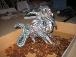 Dragon on... Copper Alloy? by Midnight-The-Cat