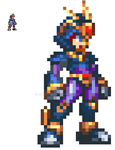 Megaman ZX Advent Dawn Model OX  - Ultimate Armor by MHBarrel