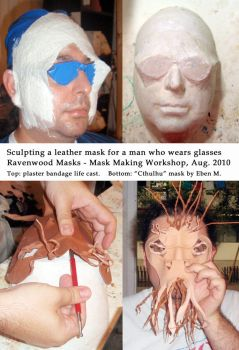 Mask for someone with glasses by Alyssa-Ravenwood