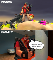 Game and Reality by OudieTH