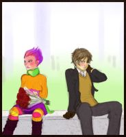 HP - Lupin and Tonks's V-Day by ArcanePrayer