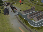 Airfield from the Air by SkarloeyRailway