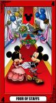 KH Tarot: Four of Staffs by way2thedawn