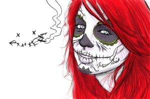 day of the dead by CrotchlessArmageddon