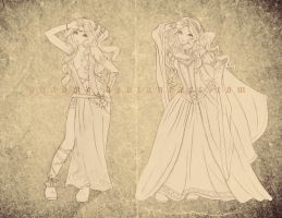 Aysha Design Clothes 2 by Phadme