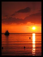 Negril Sunset 1 by leavenotrase