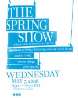 springShow Poster 3 take 2 by kenji2030