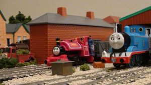 Thomas and Skarloey by GWshunter101