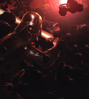 Darth Vader Collab by J-Zino