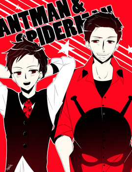 Avengers Formal | Ant-Man + Spiderman by CYUUTE