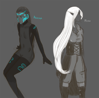 Random Character Concepts by Auro-Cyanide