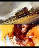 speed paintings by jamajurabaev
