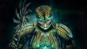 Cyrax by WishiDraws