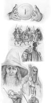 One ring to rule them all - pencil shaded by VisAnastasis