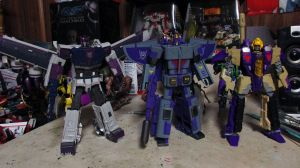 Decepticon Triple Changers by Unicron9