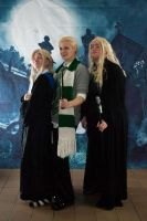 HP: Blondes by DestructiveDoll